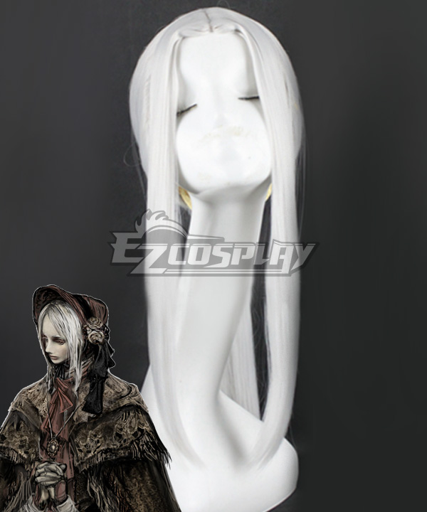 Bloodborne The Doll White Cosplay Wig