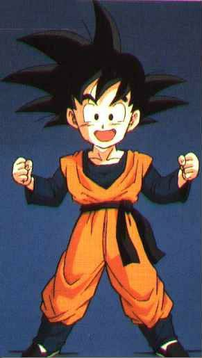 Dragon Ball Son Goten Practising Clothing Cosplay Costume
