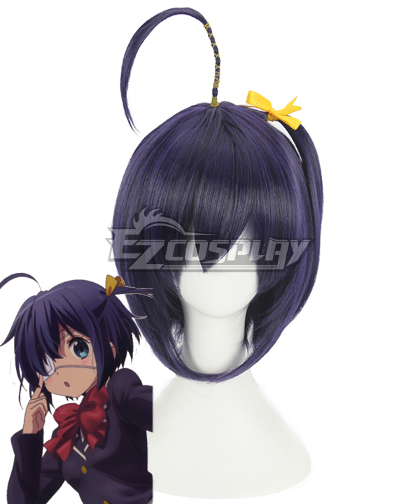 Chuunibyou Demo Koi ga Shitai Rikka Takanashi Purple Cosplay Wig