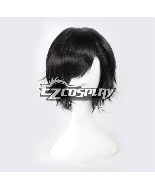 MekakuCity Actors Kagerou Project Seto Kosuke Short Black Cosplay  Wigs--338G