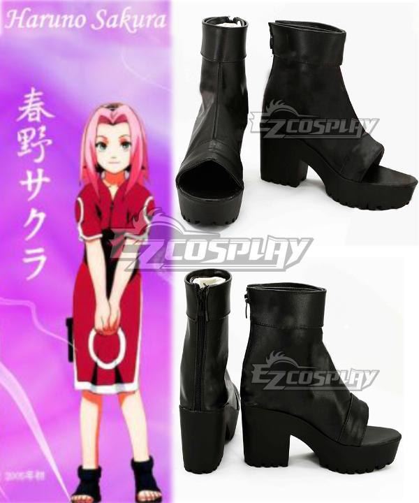 The last Naruto the movie Sakura Haruno Cosplay Shoes