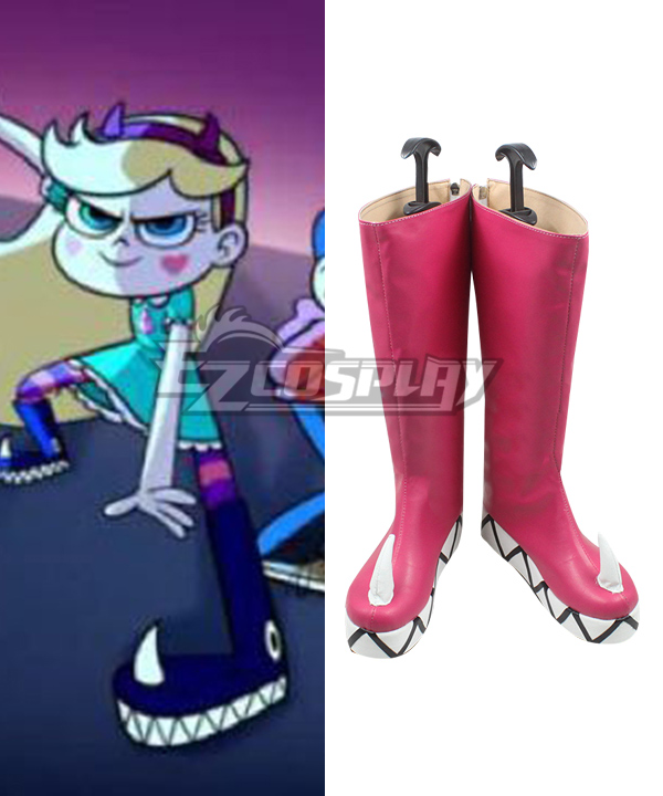 Butterfly | Princess | Force | Shoe | Boot | Pink | Star