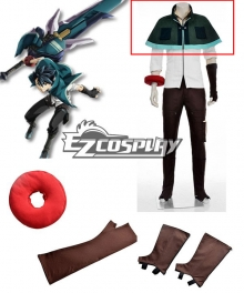 God Eater Lenka Utsugi Jinki Cosplay Costume - Only Green Cape