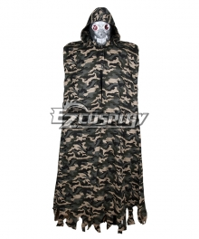 Sword Art Online II Death Gun Cospay Costume - Cloak Only