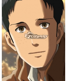 Attack on Titan Shingeki no Kyojin Marco Bott Training Corps Cosplay Wig