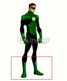 DC Comics Green Lantern Hal Jordan Green Cosplay Boots