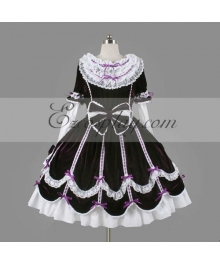 Purple Gothic Lolita Dress -LTFS0120