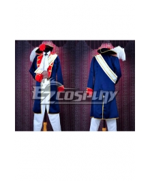 Axis Powers Hetalia -Prussia War Uniforms Cosplay Costume