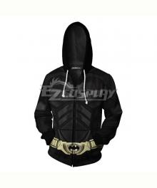 DC Comics Batman Bruce Wayne Coat Hoodie Cosplay Costume
