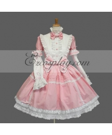 Pink Gothic Lolita Dress -LTFS0137
