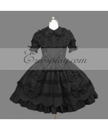 Black Gothic Lolita Dress -LTFS0147