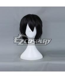 Free! Haruka Nanase Black Cosplay Wig-159B