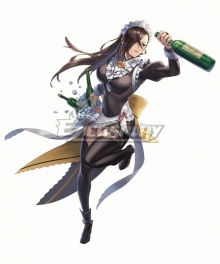 Fire Emblem Heroes Kagero Maid Version Cosplay Costume