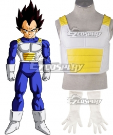 Dragon Ball Z Saiyan Vegeta Cosplay Costume