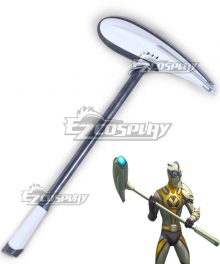 Fortnite Battle Royale Venturion Skin Airfoil Axe Pickaxe Cosplay Weapon Prop