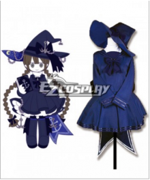 Wadanohara and The Great Blue Sea  Umi no majo-Wadanohara Cosplay Costume