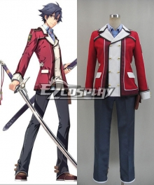 The Legend of Heroes: Sen No kiseki Rean Schwarzer Cosplay Costume