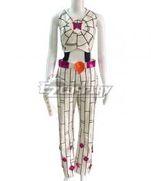 JoJo's Bizarre Adventure: Stone Ocean Jolyne Cujoh White Cosplay Costume