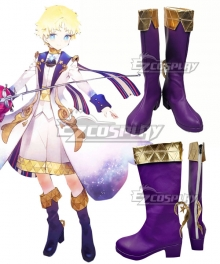 Fate Grand Order FGO Voyager Little Prince Blue Shoes Cosplay Boots