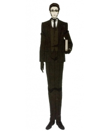 Black Butler William T Spears Cosplay Costume