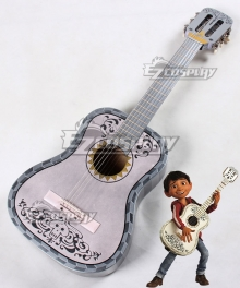 Disney Coco Miguel Rivera Guitar Cosplay Weapon Prop