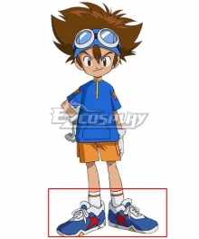 2020 Digimon Adventure Digimon Monster Taichi Yagami Blue Cosplay Shoes
