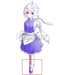 Touhou Project Letty Whiterock Purple Cosplay Shoes