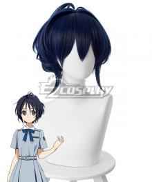 22/7 Miu Takigawa Dark blue Cosplay Wig - 498A