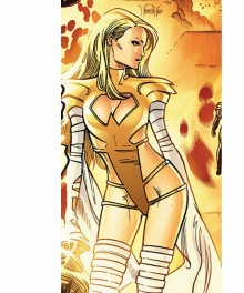 Marvel Comics X-Men White Queen Emma Frost Poenix Force Cosplay Costume