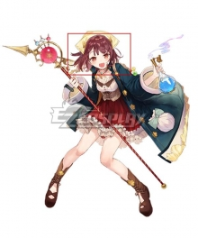 Atelier Sophie: The Alchemist of the Mysterious Book Sophie Neuenmuller A17 Purple Cosplay Wig