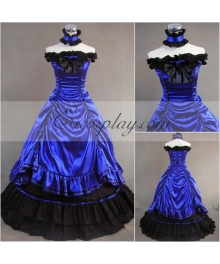 Mazarine Sleeveless Gothic Lolita Dress
