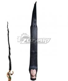 Hunter × Hunter Gon Freecss long Black Cosplay Wig
