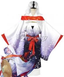 Onmyoji Ibaraki Doji Shiromuku Cosplay Costume