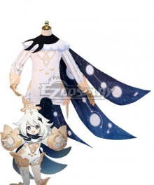 Genshin Impact Paimon B Cosplay Costume