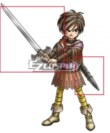 Dragon Quest IX Hero Male Cosplay Weapon Prop