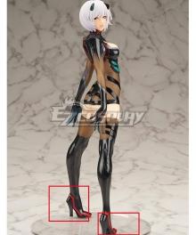 Neon Genesis Evangelion EVA Rei Ayanami Flare Black Cosplay Shoes