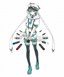 Clock over ORQUESTA Kokokoe Konoe Neverland Cosplay Costume
