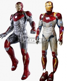 Marvel Avengers Iron Man ironman Tony Stark MK47 Cosplay Costume