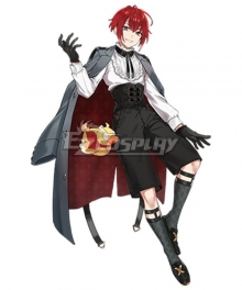 Clock over ORQUESTA Huwa Tokihito Neverland Cosplay Costume