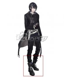 Clock over ORQUESTA Tokito Reiji Black Cosplay Shoes