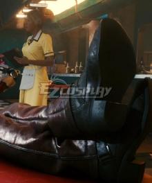 Cyberpunk 2077 Johnny Silverhand Black Cosplay Shoes