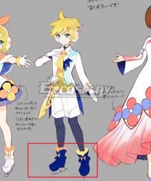 Vocaloid Kagamine Len 2020 Magical Mirai Tokyo Blue Cosplay Shoes