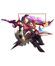 League of Legends LOL Battle Queen Katarina Pink Cosplay Wig