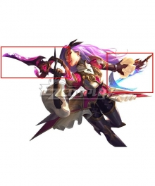 League of Legends LOL Battle Queen Katarina Cosplay Weapon Prop