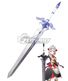 Genshin Impact Ferrous Shadow Sword Cosplay Weapon Prop