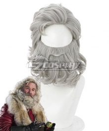 The Christmas Chronicles 2 Santa Claus Gray Cosplay Wig - 405M