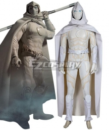 Marvel Moon Knight Marc Spector Silver Cosplay Costume