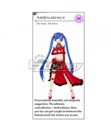 Vocaloid Hatsune Miku Ambivalence Cosplay Costume