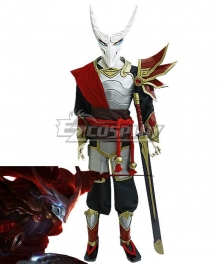 League Of Legends LOL Blood Moon Yasuo Cosplay Costume