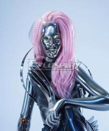 Cyberpunk 2077 Lizzy Wizzy Pink Cosplay Wig